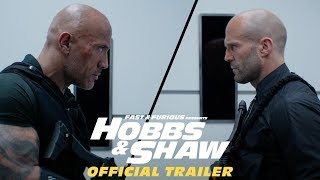 Fast & Furious Presents: Hobbs & Shaw Official Trailer #2 [HD]