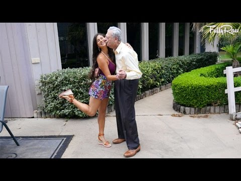 Dancing with My 93 Year Old Grandpa! Stand By Me...