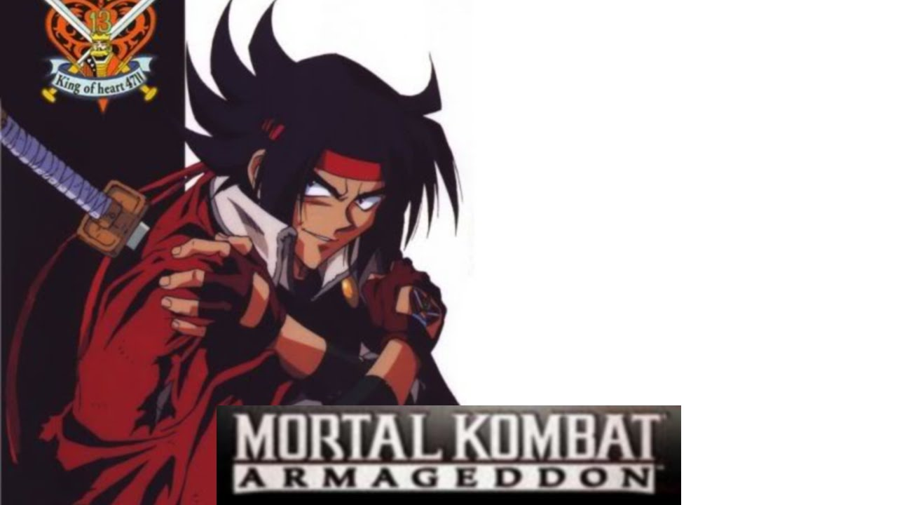 Mortal kombat kreate a fighter domon kasshu g gundam for Domon vs heero