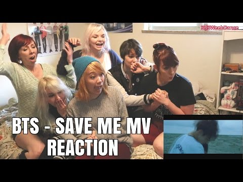 [Reaction] BTS 방탄소년단  - SAVE ME MV