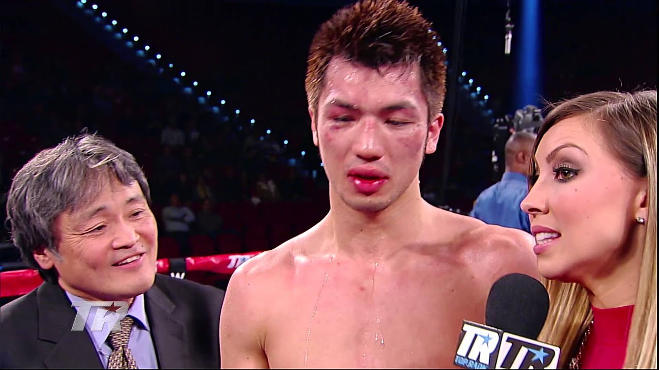 Bradley vs. Rios : Ryota Murata - Post-Fight Interview