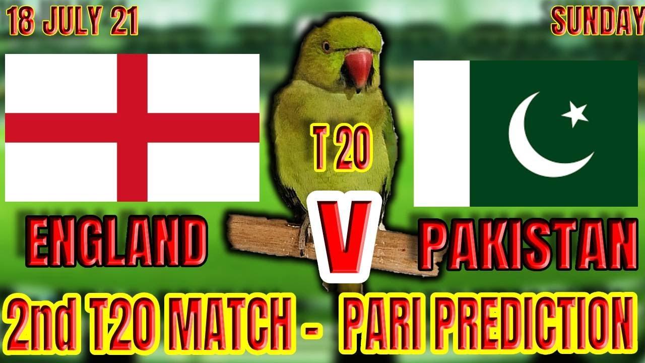 PAKISTAN vs ENGLAND 2nd T20 Match   PARI PREDICTION