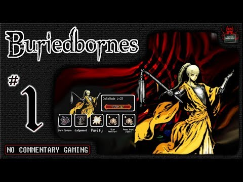 """Buriedbornes [ Ep01 ] ► """"Beating The First 10 Floors"""" Mobile Hardcore RPG NO COMMENTARY"""