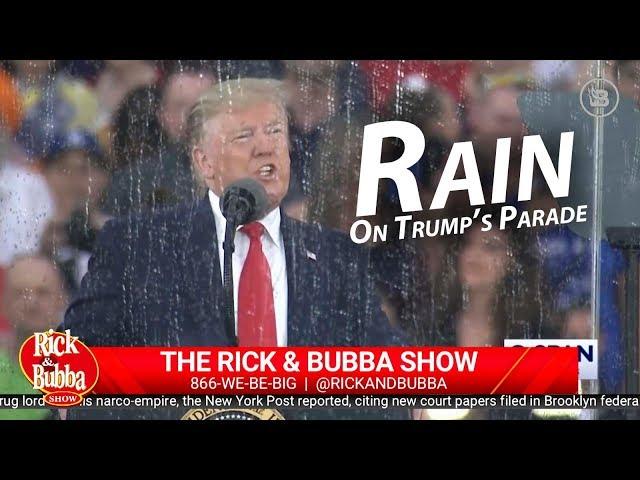 Rain On Trumps Parade