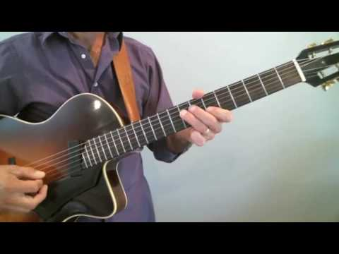 Frank Vignola Guitar Lessons - Improvisation - Triad Training: Study 2