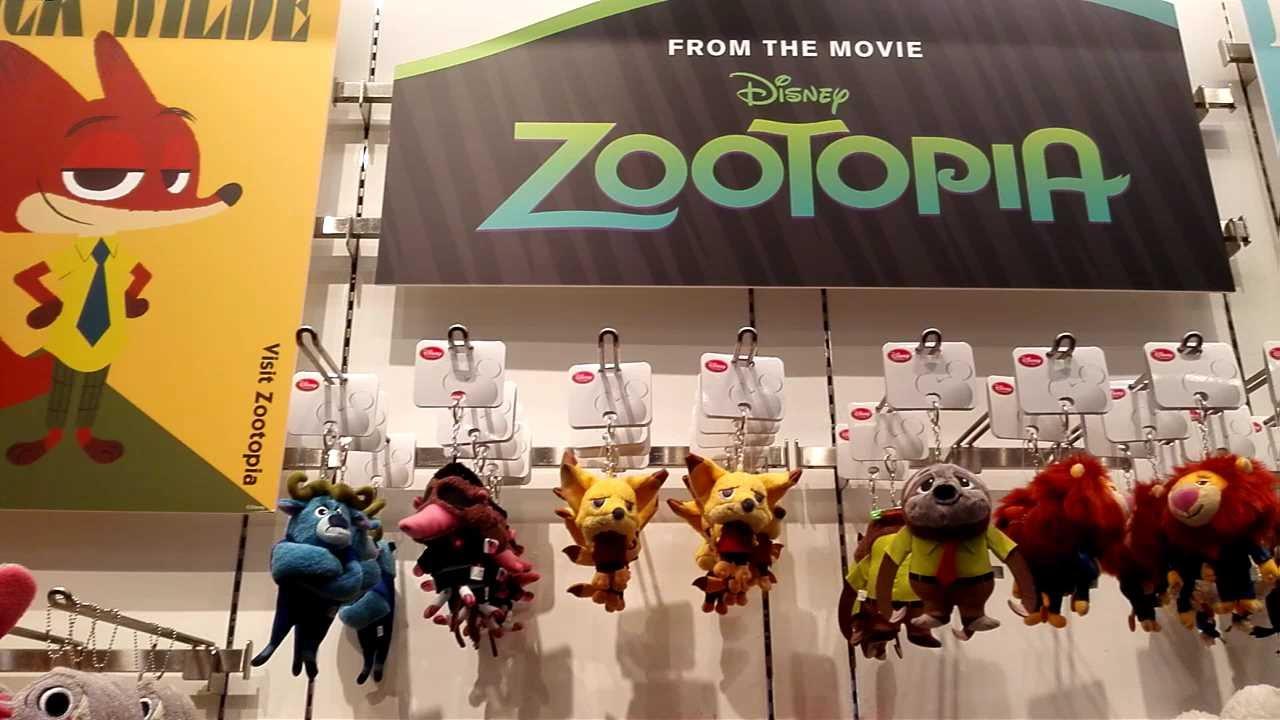 zootopia】ディズニー ズートピアグッズ 200アイテム紹介 - youtube