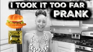 Condom In Her Food PRANK (Like This Video If I Should Keep Up The Pranks)
