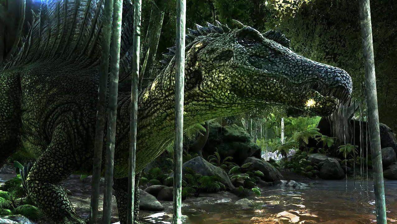 Ark Dino Battle Scenar...