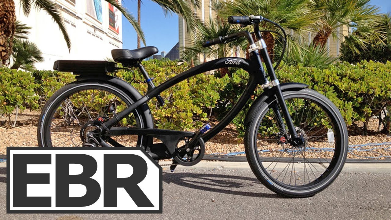 Ford Supercruiser Electric Bike Review Youtube
