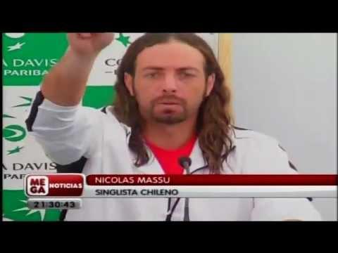 Nicolás Massú se enoja con periodista.