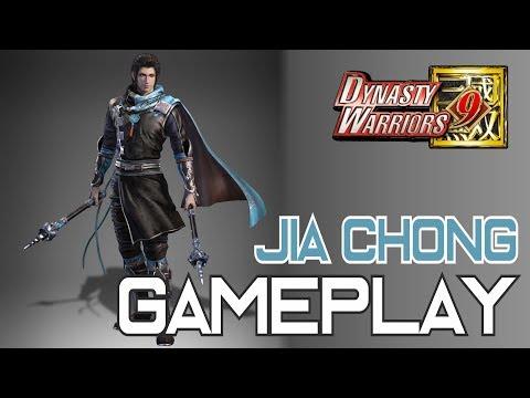 Dynasty Warriors 9 - Jia Chong Gameplay