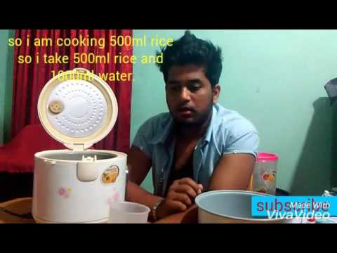 How To Use A Rice Cooker.How To Cook Rice In Rice Cooker