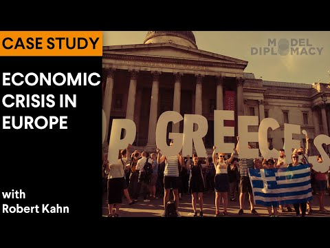 Economic Crisis in Europe: A Model Diplomacy Case Study