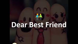 real friendship love some letters for best friends