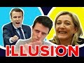 POURQUOI LE PEN ET MACRON = ILLUSION ?! - MATHRIX