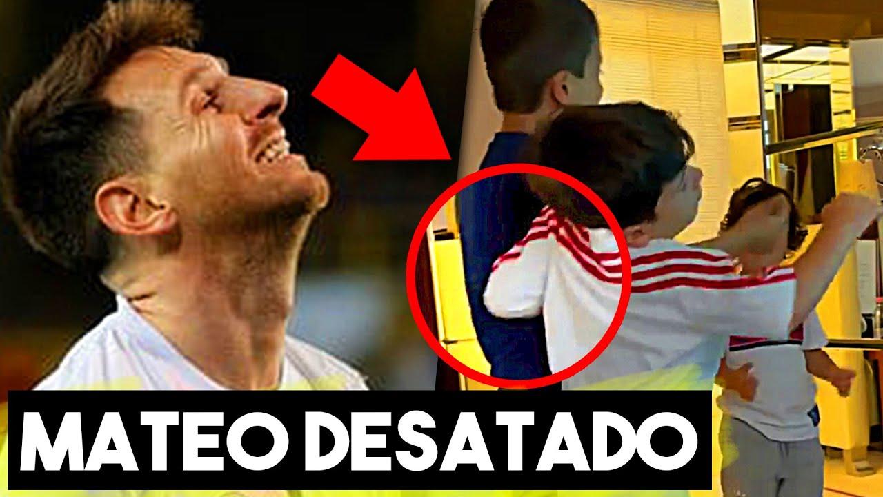 Esto Fue Lo Que Hizo El Hijo De Leo Messi Que Da La Vuelta Al Mundo Entero.