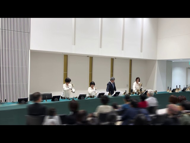 """ハンドベルHandbell, """"Hungarian Dance No.5"""", Bell Ensemble Kobe, 2019 Dec"""