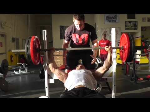 BEYOND FAILURE CHEST TRAINING! Machine Militia Take Over Armbrust Pro Gym in Colorado with iSatori