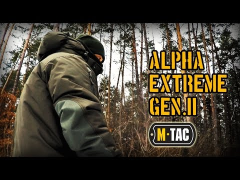 видео: Самая теплая куртка alpha extreme gen.ii от бренда М-тас