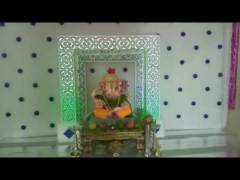 Ganpati Decoration Ideas for Home 2019