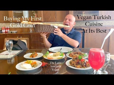 Vegan Turkish Cuisine And ... Gold!?! Saudi Gold Market!