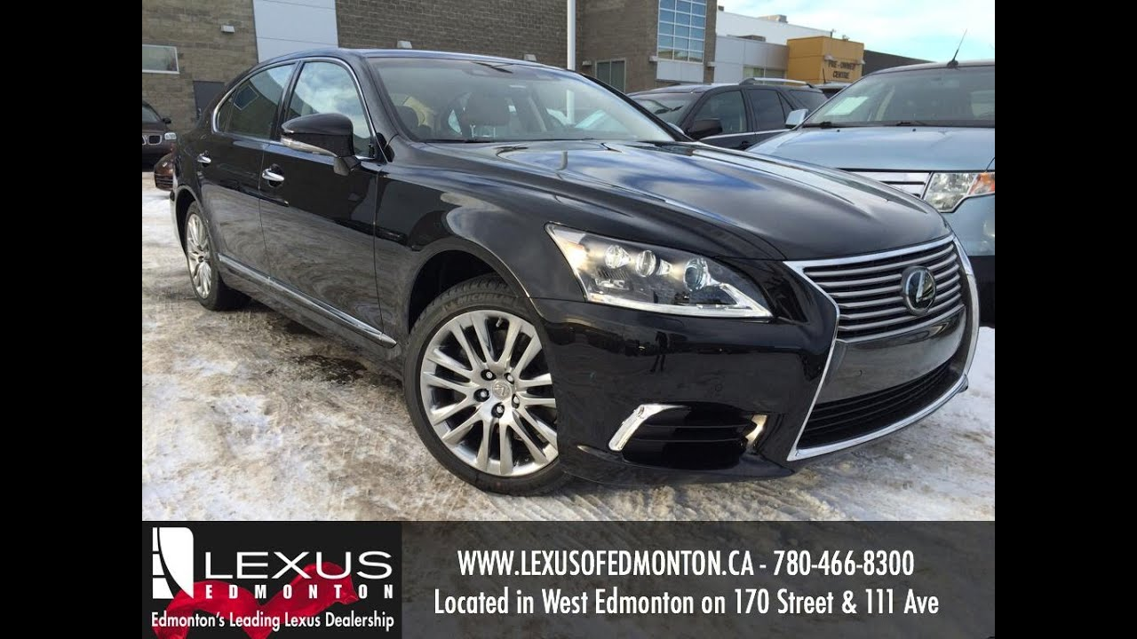 2016 Lexus LS 460 L AWD Review - YouTube