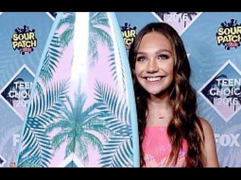 Maddie Ziegler Wins Teen Choice Best Dancer 2016