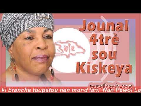 JOUNAL 4trè - Mardi 16 avril 2019 / NOUVÈL TOTAL sou Kiskeya ak Liliane Pierre-Paul