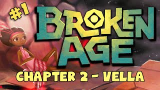 BROKEN AGE: Act 2 - Vella #1 - Homocidal Knife