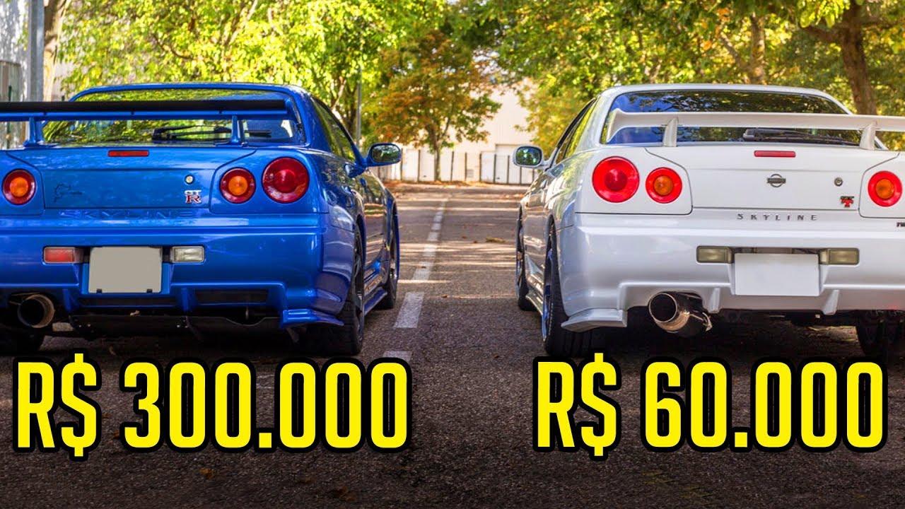 Download QUAL A DIFERENÇA DO SKYLINE R34 GTT E GTR?