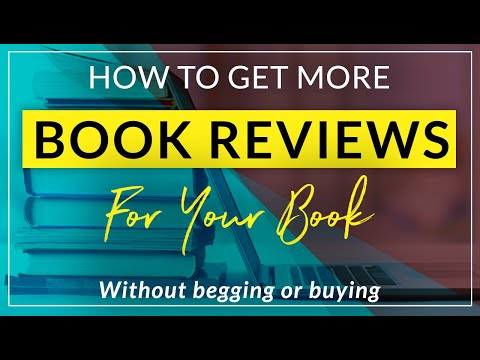 How to get book reviews and book blurbs for your self-published book