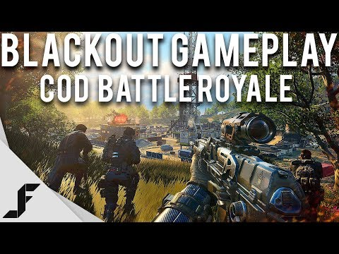 Call of Duty Battle Royale Gameplay - Blackout! - YouTube