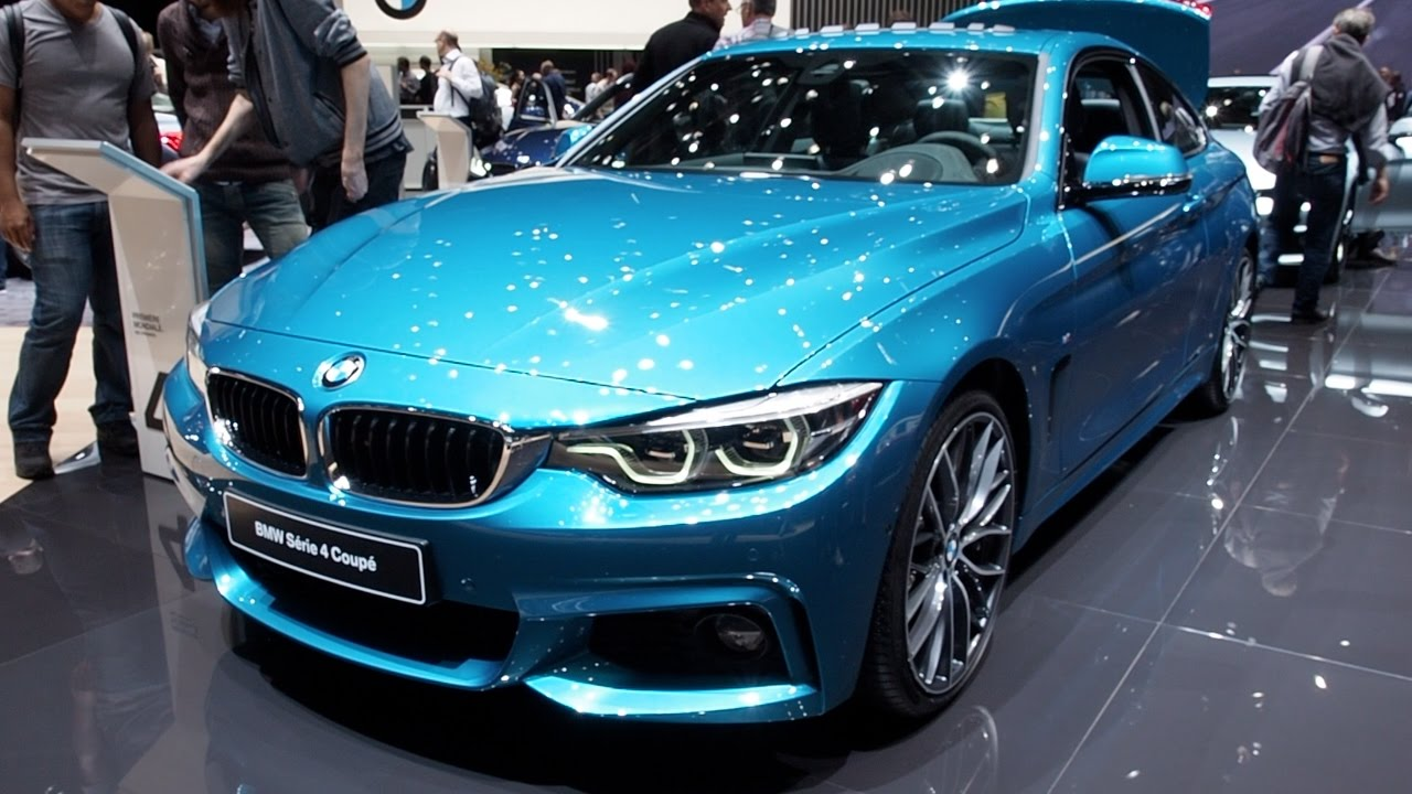 The All New 2017 BMW 4 Series Coupe In Detail Review Walkaround Interior Exterior