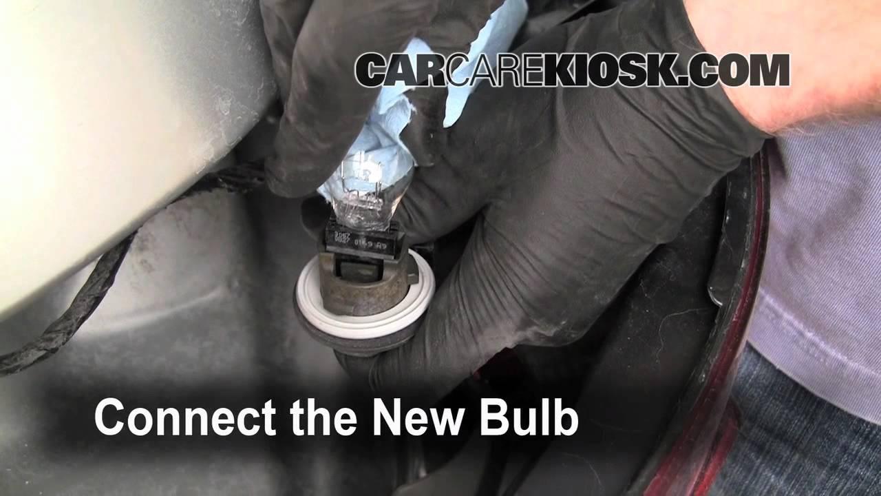 Malibu 2005 chevy malibu headlight bulb : How to replace a headlight, turn signal and brake lights on a 2005 ...