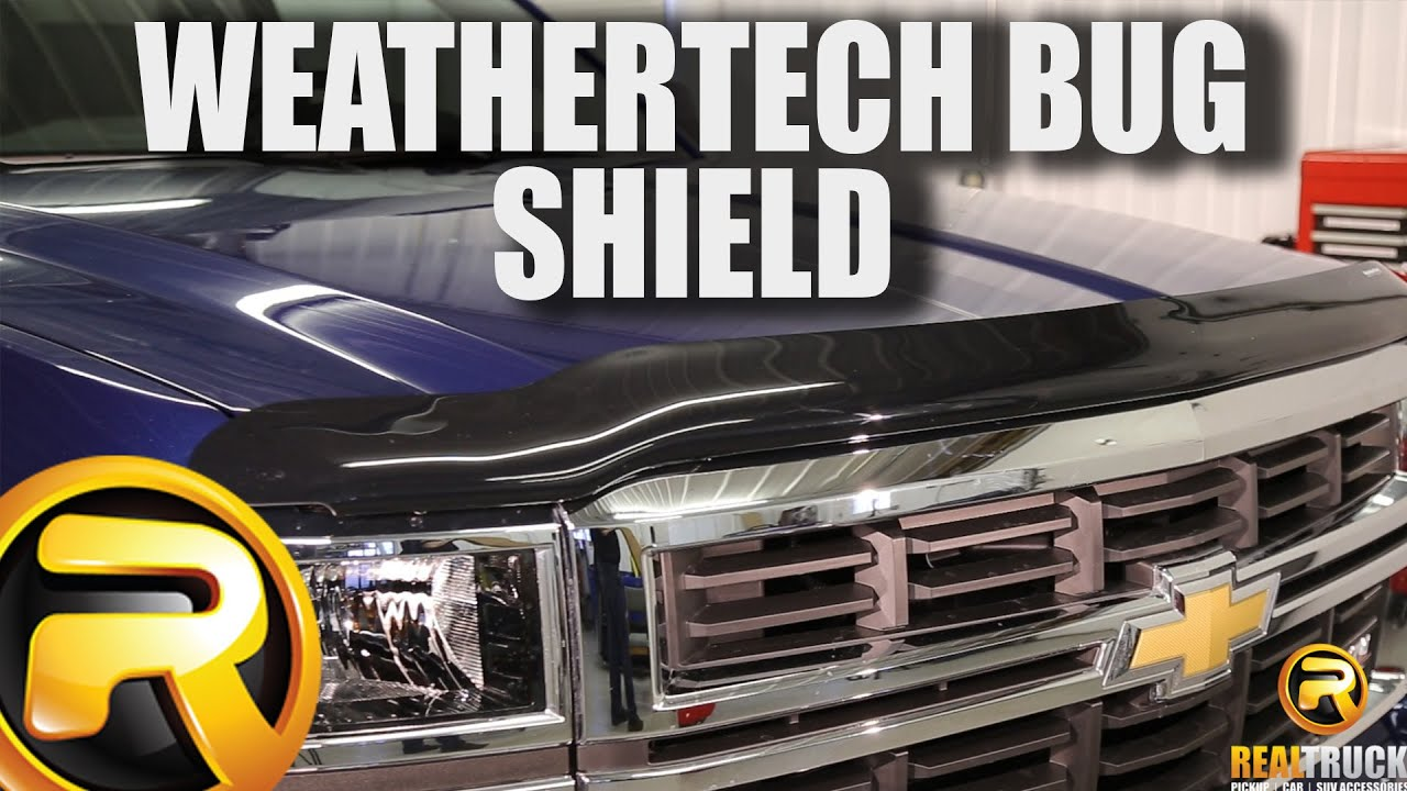 Weathertech bug shield fast facts realtruck com