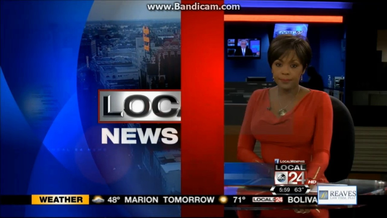 WATN: Local 24 News At 6pm Open--2016