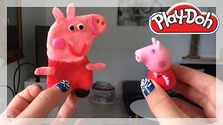 Peppa Pig Play Doh - How to make Peppa Pig PlayDough