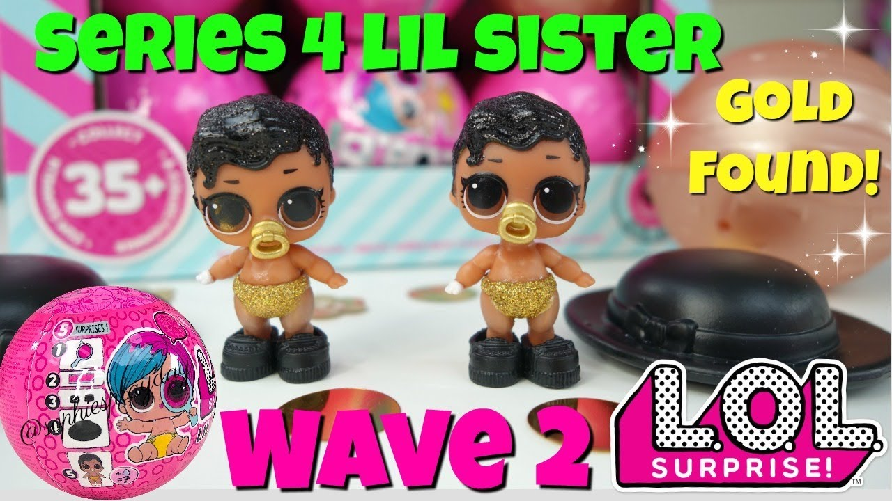 LOL Surprise Doll LIL SHIMONE QUEEN Series 4 Wave 2 ULTRA RARE Little Sister