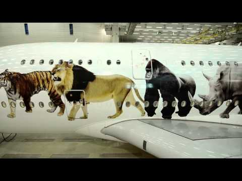 "Emirates reveals ""United for Wildlife"" Airbus A380 
