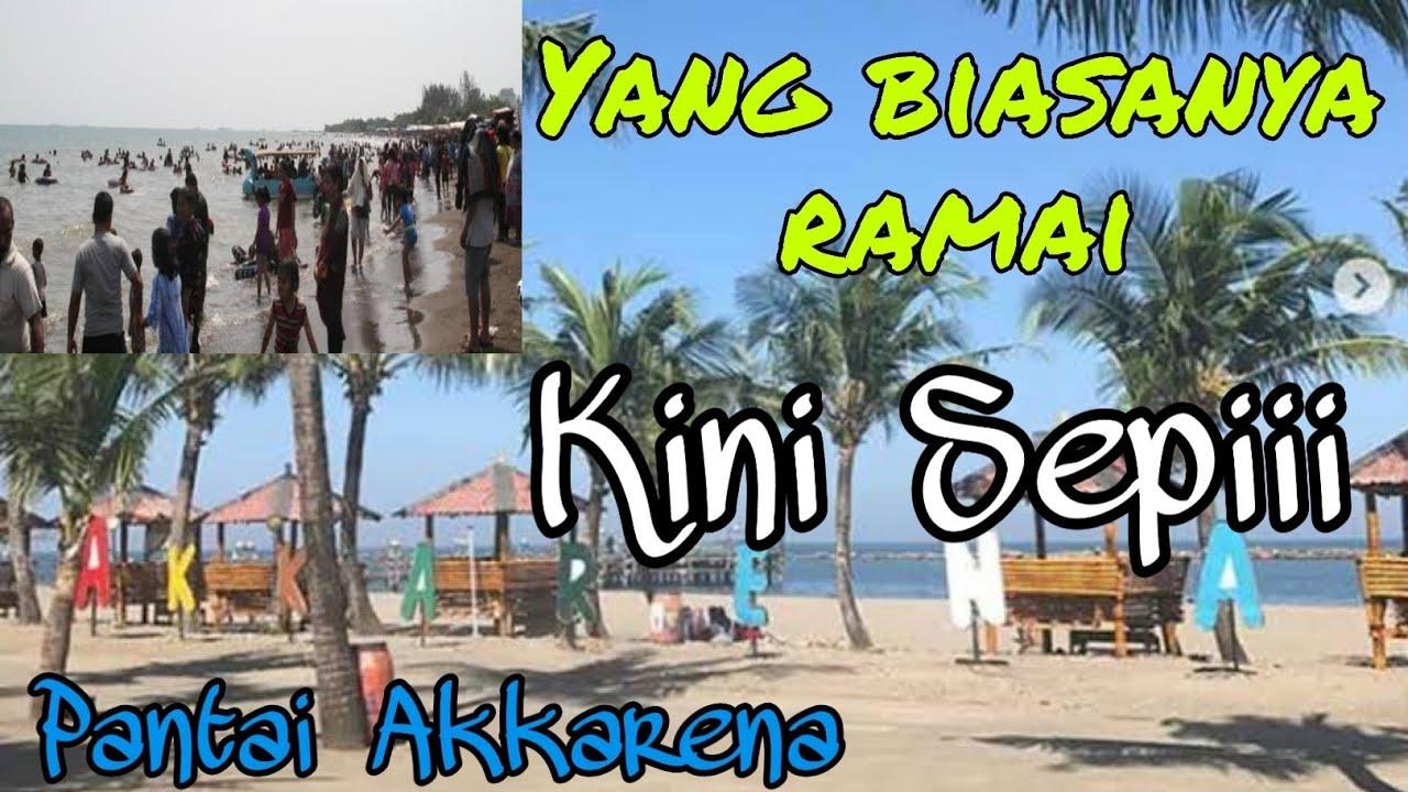 Berkunjung ke pantai Akkarena Makassar