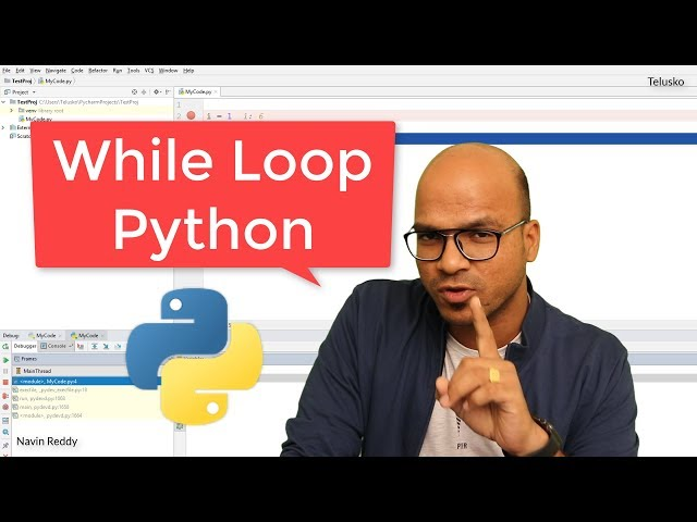 #20 Python Tutorial for Beginners | While Loop in Python