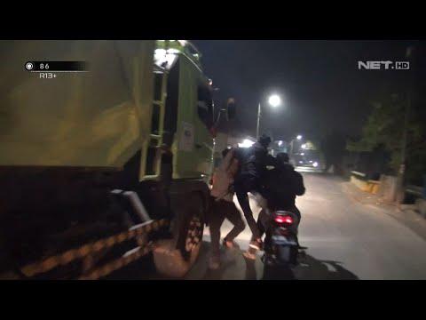 Polisi: Orang sudah susah jangan dipalak! Pemalak: Saya malak seikhlasnya pak (video razia preman)