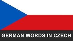 Learning Czech Easier - German words in Czech