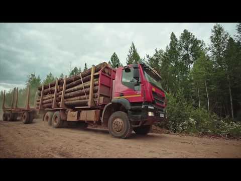 """Фильм для ассоциации лесопромышленников """"Русский лес"""""""