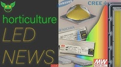 Horticulture LED NEWS: Cree's new 5050, Sunlike spectra, LED tariffs !?!