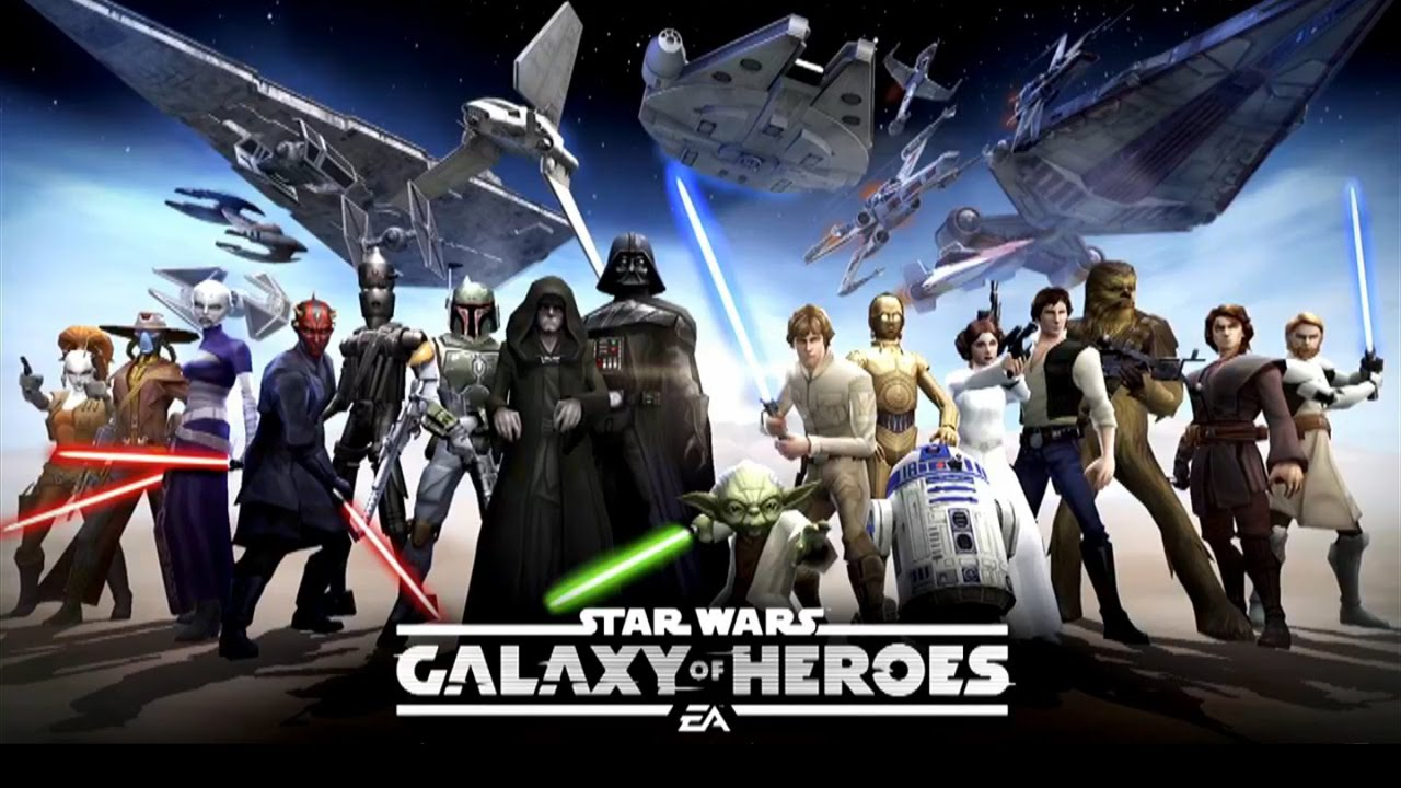 "Image result for Star Warsâ""¢: Galaxy of Heroes"