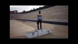 Uma volta no Estádio Panathinaiko em Atenas-Grécia (Rodrigo Sá)