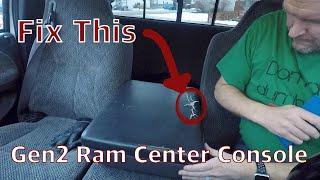 For 1994-1997 Dodge Ram 1500 Center Console Auto Meter 34671KJ 1995 1996