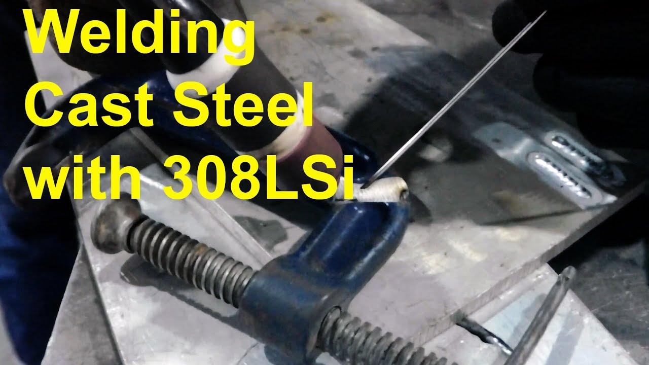Welding Broken C Clamp ( Cast Steel / Iron ? ) With 308LSi Filler ...