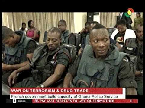 French Gov't build capacity of Ghana Police service in fighting terrorism & drug Trade -16/1/2017